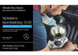 Mercedes-Benz Abşeron rəsmi dilerdən Payız Kampaniyası