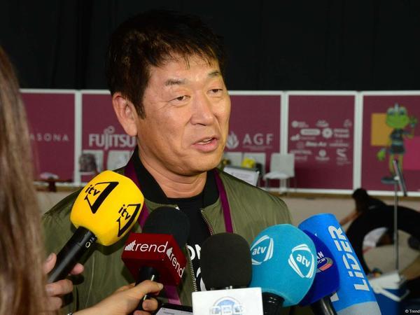 """Beynəlxalq Gimnastika Federasiyasının Prezidenti: """"Çempionatı Bakıda açıq elan etməkdən şərəf duyuram"""""""