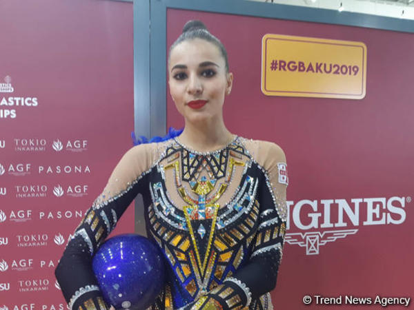 """Gürcüstan gimnastı: """"Bakıda Milli Gimnastika Arenasında çıxış etmək rahatdır"""""""