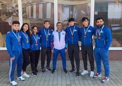 Yeniyetmə və gənc karateçilərimiz Macarıstanda 3 qızıl və 5 bürünc medal qazandılar