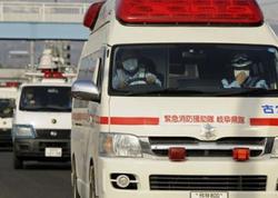 """Yaponiyada ağır qəza: <span class=""""color_red"""">azı 10 nəfər yaralanıb</span>"""