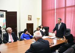 AMEA-nın daha iki institut və muzeyinə yeni direktorlar təsdiq edildi - FOTO