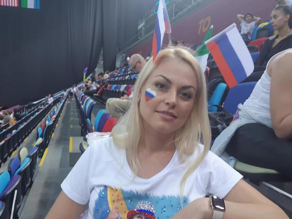 Rusiyalı tamaşaçı: Bakıda bədii gimnastika üzrə dünya çempionatı parlaq keçir