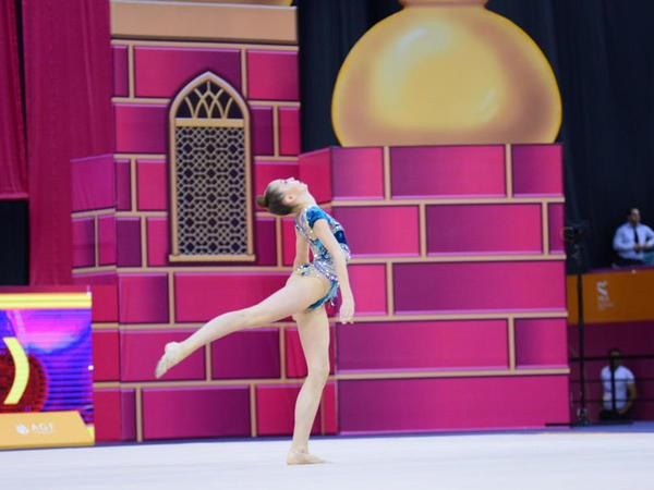 Bədii gimnastika üzrə 37-ci dünya çempionatı davam edir - FOTO