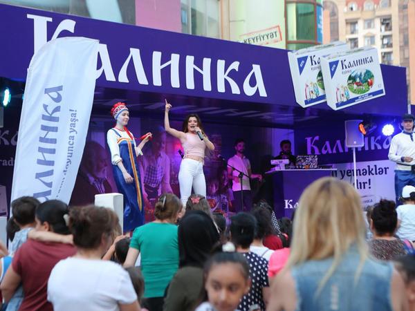 """""""Kalinka"""" yağı markası Azərbaycanın bölgələrində konsertlərə start verdi"""