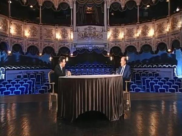 """Ramil Qasımovun """"Bizi birləşdirən mədəniyyət """" verilişində ilk qonağı Əbülfəs Qarayev oldu"""