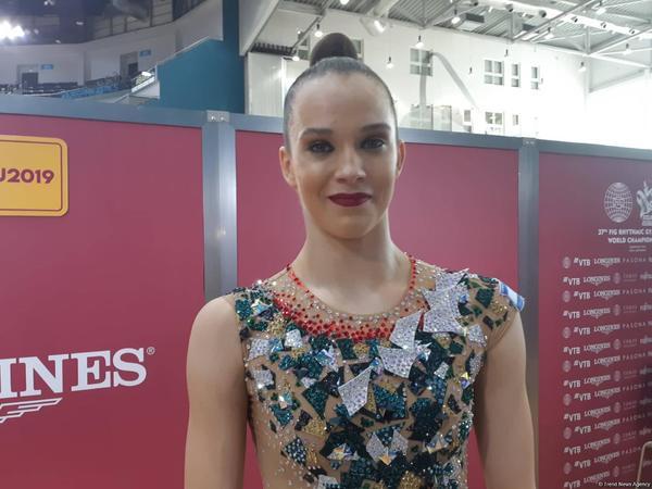 """İsrail gimnastı: """"Milli Gimnastika Arenasında bütün şərait yaradılıb"""""""