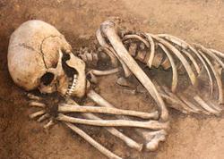 """Alimlər ölünün parçalanmasını lentə aldılar: <span class=""""color_red"""">17 ay hərəkət edirmiş</span>"""