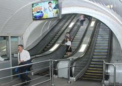 """""""Nizami"""" stansiyasında eskalatorun əsaslı təmiri başa çatıb - <span class=""""color_red"""">FOTO</span>"""