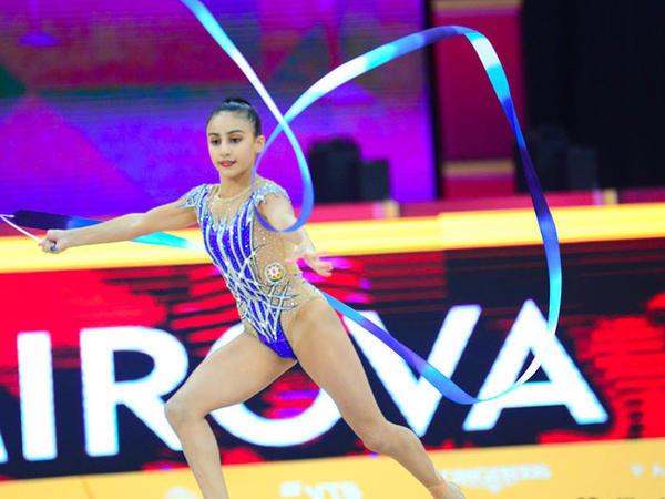 Bədii Gimnastika üzrə Dünya Çempionatının üçüncü günü Azərbaycan gimnastları üçün necə başa çatıb?  - FOTO