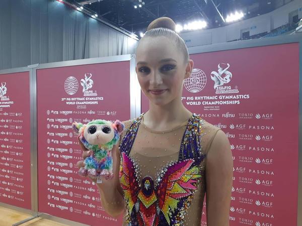 """İsrail gimnastı: """"Milli Gimnastika Arenasında gözəl şərait yaradılıb"""""""