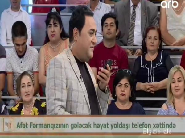 Afət Fərmanqızının Hacısı CANLI EFİRDƏ