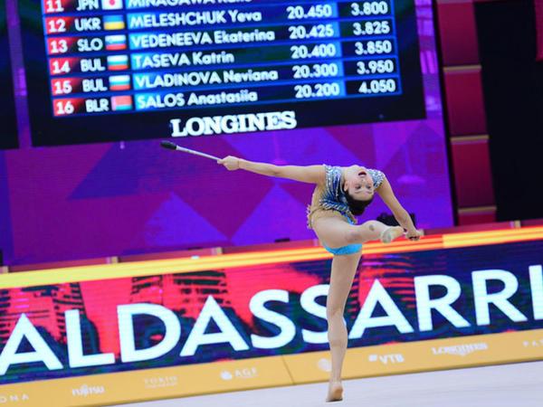 Bədii gimnastika üzrə 37-ci dünya çempionatının 4-cü günü start götürüb - FOTO