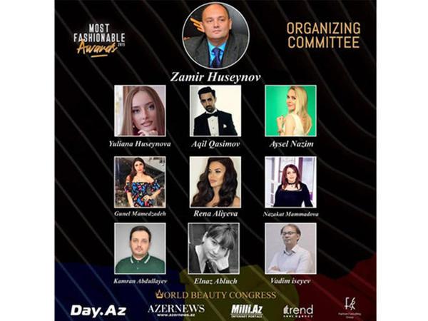 """Word Beauty Congress unikal ümumdünya mükafatı """"Most Fashionable Awards 2019 """"u təqdim edir"""