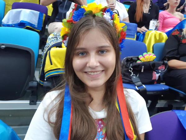 """Ukraynalı tamaşaçı Milli Gimnastika Arenası barədə: """"Mən bu cür zal görməmişdim"""""""