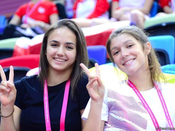 Bakıda bədii gimnastika üzrə dünya çempionatı azarkeşlər üçün bayramdır - FOTO