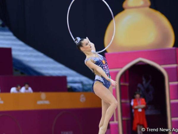 Bədii gimnastika üzrə dünya çempionatında Rusiya komanda hesabında birinci oldu