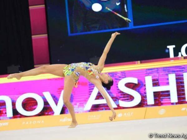 Bakıda bədii gimnastika üzrə dünya çempionatının finalı başlayıb - FOTO
