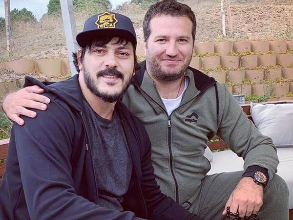 """Zabit Səmədov """"Diriliş Osman""""ın çəkiliş meydanında - FOTO"""