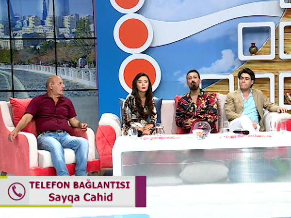 """Qəzaya düşən Sayqa Cahid canlı yayımda səhhətindən <span class=""""color_red"""">DANIŞDI - VİDEO - FOTO</span>"""