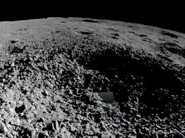 Çin, Ayın səthində olan cisimlərin şəklini paylaşdı