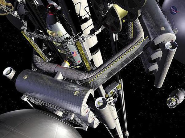 Kosmik liftin yaradılması mümkündür