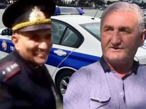 """Sürücünün təhqir etdiyi polis işdən çıxarıldı - <span class=""""color_red"""">VİDEO</span>"""