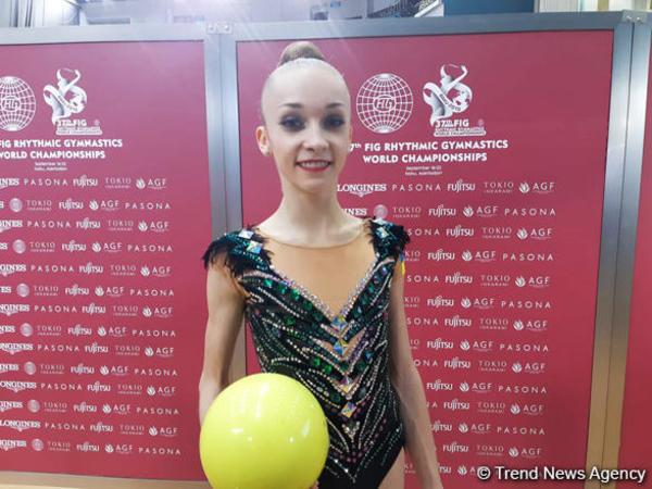 """Ukrayna gimnastı: """"Bakıda çıxış etmək rahatdır"""""""