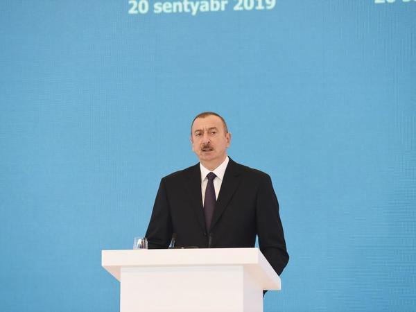 """Prezident İlıham Əliyev: """"Neft, qaz tükənən sərvətlərdir, intellektual potensial isə dəyişməz sərvətdir"""""""