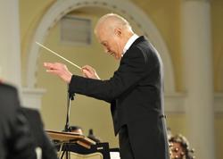 Rusiya Dövlət Akademik Orkestrinin baş dirijoru Dmitri Xoxlov Bakıda çıxış edib - FOTO