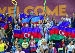 Bakıda keçirilən bədii gimnastika üzrə dünya çempionatından ən maraqlı anlar - FOTO