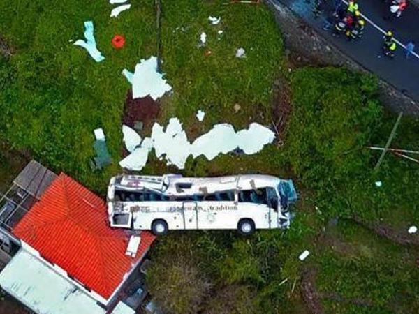 Turist avtobusunun qəzası nəticəsində 4 nəfər ölüb