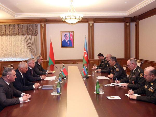 """Zakir Həsənov Belarus Təhlükəsizlik Şurasının dövlət katibi ilə görüşüb - <span class=""""color_red""""> FOTO</span>"""