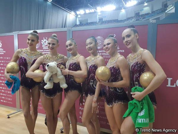 """Alman gimnast: """"Milli Gimnastika Arenası xoş təsir bağışlayır"""""""