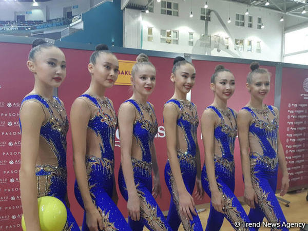 """Qazaxıstanlı gimnastlar: """"Bakıya döyüşə hazır vəziyyətdə gəlmişik"""""""