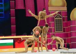 Milli Gimnastika Arenasında Dünya Çempionatının sonuncu günü start götürüb - FOTO