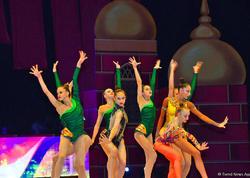 Bakıda keçirilən bədii gimnastika üzrə 37-ci dünya çempionatının təntənəli bağlanış mərasimi olub - VİDEO - FOTO