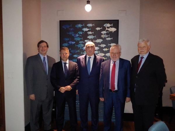 ABŞ-da Elmar Məmmədyarovun ATƏT-in Minsk Qrupunun həmsədrləri ilə görüşü baş tutdu - FOTO