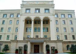 MN: Azərbaycan tərəfinin təxribat törətməsi yalandır