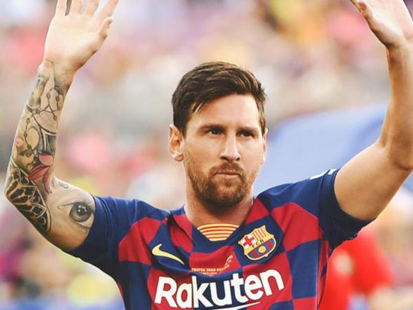 Messi özündən çıxdı