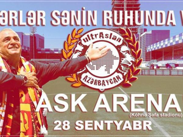 """İstanbul derbisi Bakıda - <span class=""""color_red"""">""""Qalatasaray"""" - Fənərbağça"""" matçı """"ASK Arena""""da</span>"""