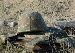 Qarabağda erməni əsgər öldürüldü