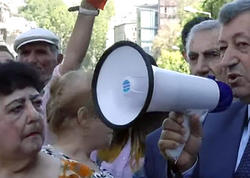 Yerevanda Avrasiya İqtisadi İttifaqına qarşı aksiya keçirildi