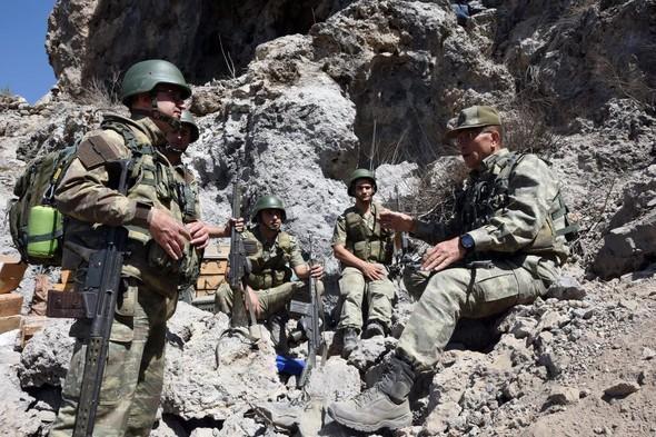 Türkiyə İraqın şimalında terrorçuları məhv etdi