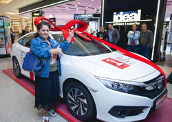 BirKart müştərisi Honda Civic qazandı!