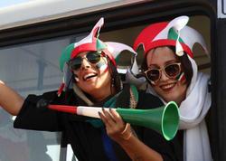 """İranda qadınlar stadiona buraxıldı - <span class=""""color_red"""">FOTOlar</span>"""