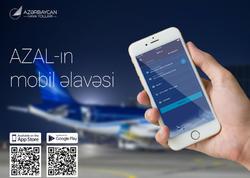 """""""Azərbaycan Hava Yolları"""" iPhone və Android smartfonları üçün mobil əlavəni təqdim edib"""