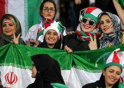İranda futbol matçında təqribən 3,5 min qadın olub