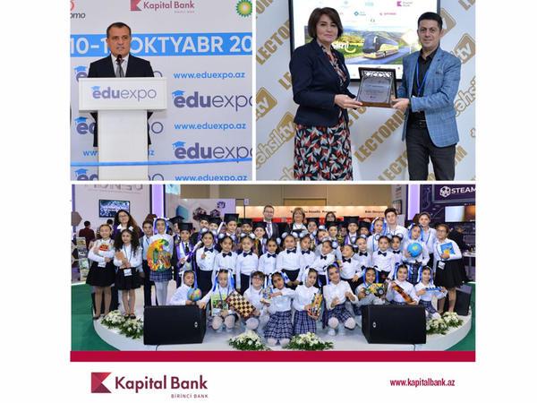Kapital Bank Beynəlxalq Təhsil Sərgisinin rəsmi tərəfdaşıdır