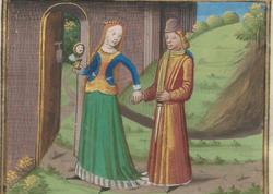 """Sarayda eşq macərası: <span class=""""color_red"""">XIII əsrdə yazılmış erotik roman tapıldı - FOTO</span>"""